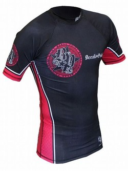 Elite Rash Guard Pink 1