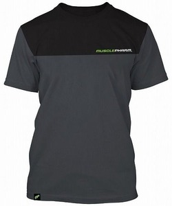 MusclePharm Two Tone T-shirt grey 1