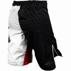 Shorts White Black Echo 3