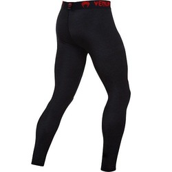 0 Compression Spats black-red 2