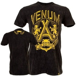 T-shirt Venum Jose Aldo Lion BK Yellow2
