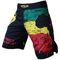 VENUM ファイトショーツ Africa Flag 黒
