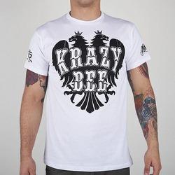 tshirt KRAZY BEE white1