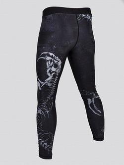 grappling tights SNAKE black 2