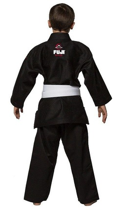 All Around Kids BJJ Gi black 2