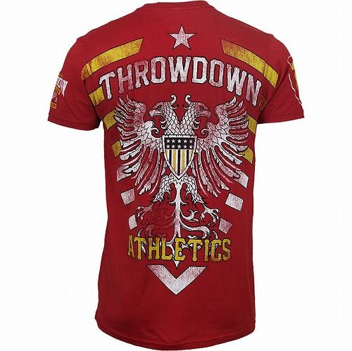 Throwdown Homeland Shirt Red4