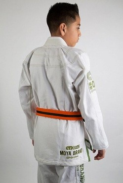 Kids_Gi_Standard_Issue_White_Gi_Green_Stitching_2