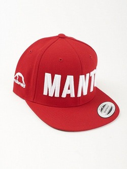 snapback cap EAZY red