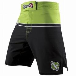 Hayabusa Sport Training Shorts Black-green 1a