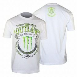 Kurt Busch The Outlaw Monster T-Shirt (White) 1
