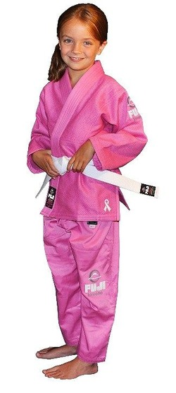 All Around Kids BJJ Gi Pink 1