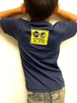 Original Logo Kids Tee Navy2