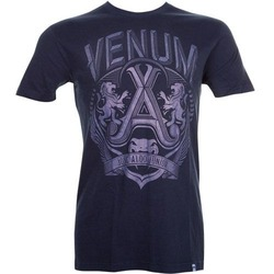 T-shirt Venum Jose Aldo Lion Blue2