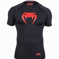 Contender Compression T-shirt - Red Devil - Short Sleeves 1