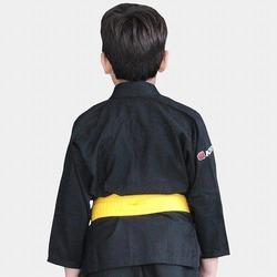 KIMONO KIDS REFORCADO black 4