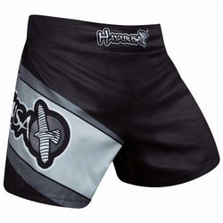 Kickboxing Shorts black gray 2