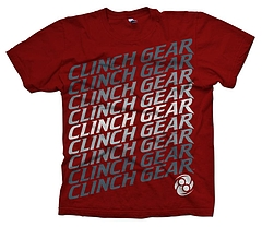 CLINCH GEAR Tシャツ Weave 赤