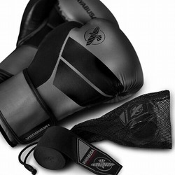 S4 Boxing Gloves  Hand Wraps Kit charcoal1