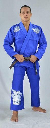 Kimono Royal Combat Extra Comp Blue1