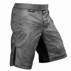 Hexagon Fight Shorts grey 2