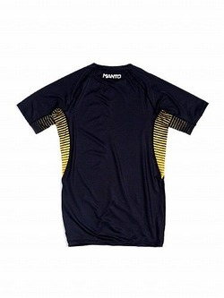 short sleeve rashguard LOGO black 2