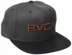 RVCA Twill III Snapback Hat 1