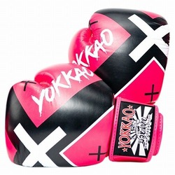 X_Pink Muay Thai Boxing Gloves1