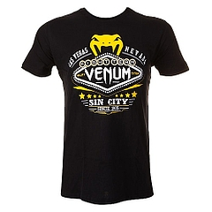Las Vegas T-shirt  Black 1