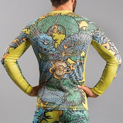 Colliding Dragons Rashguard2