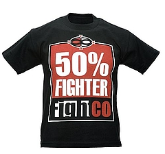 Fight Co kidsTシャツ 50%Fighter 黒