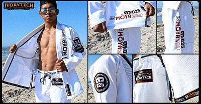 Gi Ivory Tech Kimono Wt1