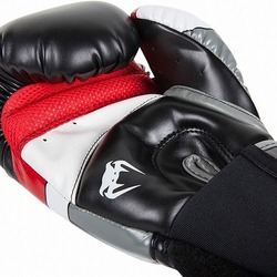 Glove Elite BK Gray Red3
