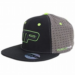 Icon Snap Back Hat BK Green1