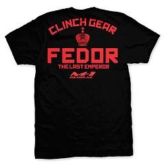 CLINCH GEAR Tシャツ ヒョードル ストライクフォース 黒