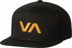 VA Snapback II Hat blackyellow