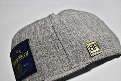 Perfecting The Art Snap Back Hat  Heather Gray 3