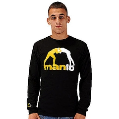 MANTO longsleeveCLASSIC black 1