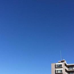 171118 どこまでも青く