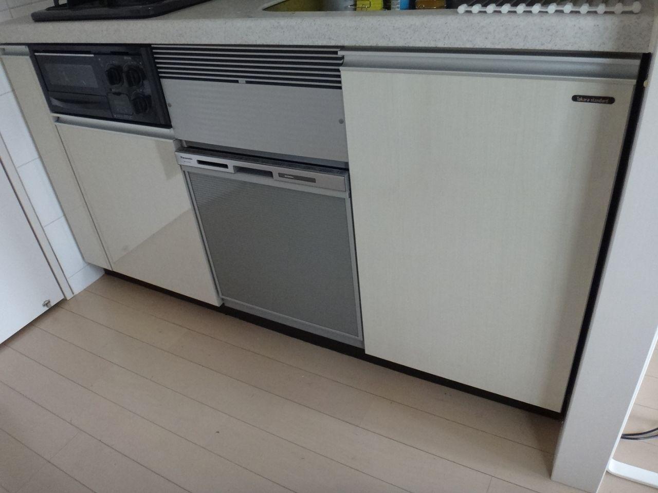ばぶらのローエミッション生活食洗機工事の出来映えは?Panasonic NP-45MS6S イン・リロケマンション