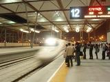 帰路の蘇州駅