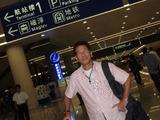 上海空港到着