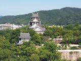 岡山城展望
