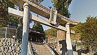 大野神社(広島市) - 1759年創建、拝殿は当時のもの、不思議な2本の巨大な松