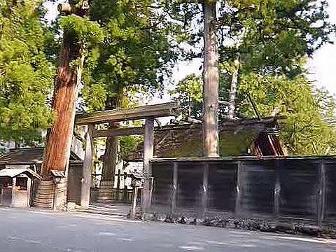 三重県の神社のキャプチャー