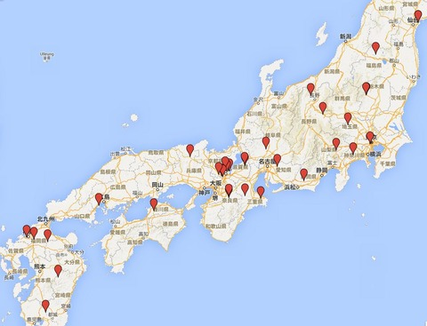 紅葉の名所で知られる神社 - 特に有名な、10月下旬から11月にかけて行って得する神社一覧