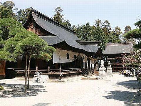 山梨県の神社のキャプチャー
