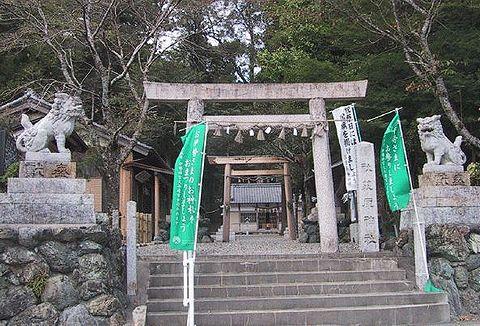 荻原神社 三重県多気郡大台町江馬のキャプチャー
