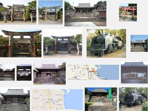霊丘神社(長崎県島原市弁天町2-7341)