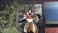 重要無形民俗文化財「真桑人形浄瑠璃」 - 人形の動きに歌舞伎的な大振り、独特な演出のキャプチャー