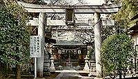 天神社(小金井市) - 1747年創建の関野天神社、正月には彩色画のうぐいすがなく伝承